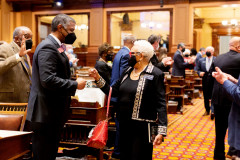 day-33-march-16-chamber-in-session-37-X4-State-of-the-Judicary-Senator-Gloria-Butler-Rep.-Al-Williams-Rep-Beverly
