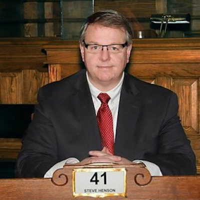 Senate Minority Leader Steve Henson